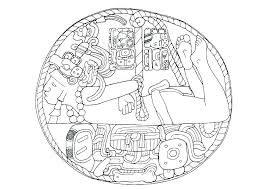 Mayan Coloring Pages Calendar Coloring Pages Download Large Image
