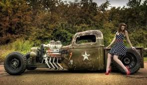 us army rat rod stealing the spotlight at hot rod riot 2015