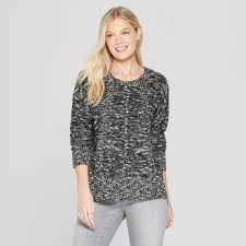 Womens Marble Long Sleeve Button Sided Pullover Knox Rose