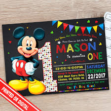 mickey mouse party invitation mickey mouse themed invitations magdalene project org