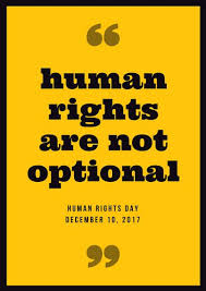 Human Rights Quotes Cool Black And Yellow Quotes Human Rights Poster Templates By Canva