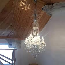 large chandeliers living room foyer bohemian crystal chandelier china led high ceiling hallway lighting pendant