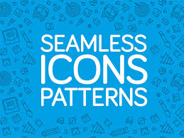 20 free seamless icon patterns for