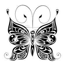 Nálepka Tetování Motýl