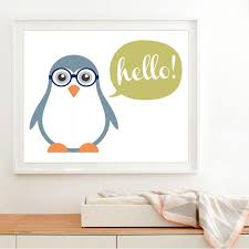 lzn new cute baby penguin canvas painting art modern nursery wall pictures animals baby print poster on penguin wall art for nursery with lzn new cute baby penguin canvas painting art modern nursery wall