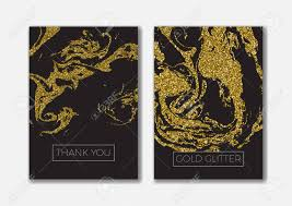 book cover flyers leaflets set of the blank gold glitter card templates ideally for the save the date
