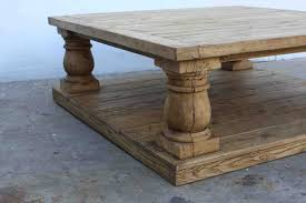 ... Contemporary Square Coffee Tables Reclaimed Wood Table By Tim Sway