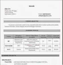 lecturer - Lecturer Resume Format