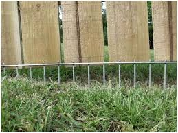 a solution to fence that is raised or that a dog digs around i can do