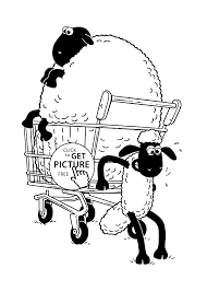 Small Picture the sheep coloring pages for kids printable free