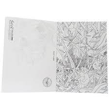 大人の塗り絵 ぬりえカード8枚セット羽野瀬里 Animal Kingdom 雑貨 株式