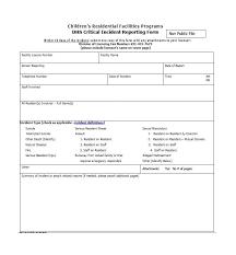 60 Incident Report Template Employee Police Generic