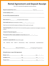 Lease Basic Rental Agreement Apartment Lease Template Printable