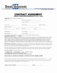 Service Agreement Contract Template Beautiful Auto Rep On Memo Form ...