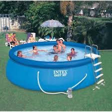 above ground inflatable pool. Unique Above Intex 15u0027 X 48 Throughout Above Ground Inflatable Pool I