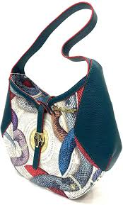 guillermo mariotto borsa donna in pelle KRAIT MULTI GREEN: Amazon.it:  Scarpe e borse
