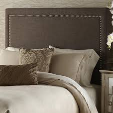 brown upholstered headboard. Contemporary Brown Brown Queensize Upholstered Headboard With Overstockcom