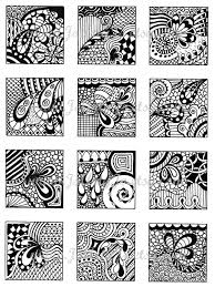 Zentangle Patterns Pdf Unique Design Inspiration