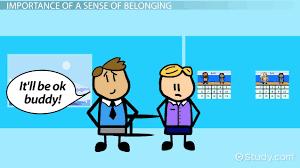 sense of belonging definition theory video lesson sense of belonging definition theory video lesson transcript com