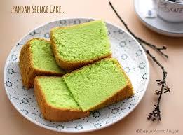 Dapur Mama Aisyah Pandan Sponge Cake Yang Lembut Dan Lembuuut