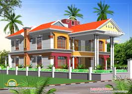 Building Elevation Designs For Double Floor Double Story House Elevation Kerala Home Design And Floor