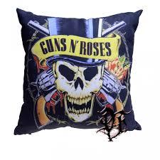 <b>Подушка Guns n' Roses</b> логотип - купить с доставкой по Москве и ...