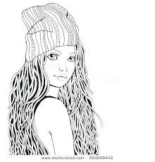 coloring page for girls. Exellent Page Cute Girl Coloring Pages Girls Page Book Together With Fo For O