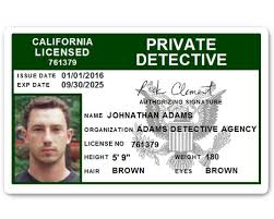 Id C510pvc Private Card Pvc Detective