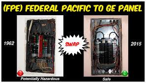 replacing 1962 federal pacific breaker panel fpe zinsco replacing 1962 federal pacific breaker panel fpe zinsco g e