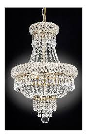 harrison lane j2 1023 3 light 15 wide single tier crystal chandelier with gold