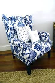 Blue Pattern Accent Chair Delectable Blue Print Accent Chair Accent Chairs Target Grey Pattern Blue With