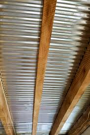 kitchen renovation ceiling walls and plumbing update industrial mesmerizing sheet metal ceiling ideas corrugated