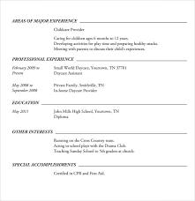 Simple High School Resume Examples Free 6 Sample High School Resume Templates In Pdf Word