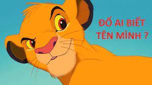 Vua Sư Tử - Sư Tử Con học gầm, dễ thương, đáng yêu, tinh nghịch   Vua sư tử,  Phim hoạt hình, Đang yêu