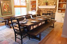 rustic dining room table centerpieces. rustic dining room table with bench shabby white round solid wood minmalist wooden centerpieces l