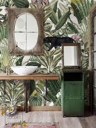 Behang Jungle Wilde Dieren Wallmural Muur Muurschildering Etsy