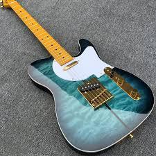 Fender Telecaster Merle Haggard Signature quilted Maple Top Blue ... & Fender Telecaster Merle Haggard Signature quilted Maple Top Blue Burst  Electric Guitar - Electric Guitar Adamdwight.com