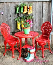 outdoor bistro set spray paint makeover spray paint furniturepainting