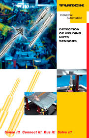 detection of welding nuts sensors turck pdf catalogue detection of welding nuts sensors 1 4 pages