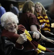 Moser, Loyola and Sister Jean basking in Final Four