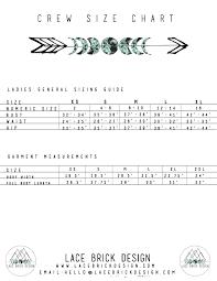 Brick Sizes Chart Size Guide Lace Brick Design