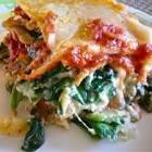 3 step spinach lasagna
