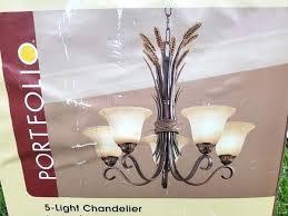 full size of portfolio 5 light chandelier bronze lola installation instructions for in lighting marvelous
