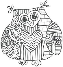 Day Of The Dead Owl Coloring Pages Free Sugar Skull Coloring Page By