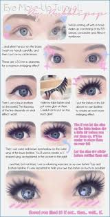 eye make up tutorial great baby doll look anese doll eye makeup
