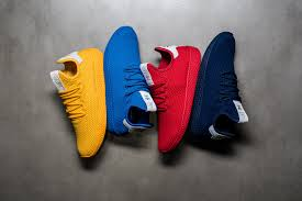 adidas pharrell. adidas by pharrell williams tennis hu - blue p