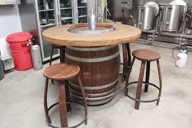 wood barrel furniture. Wine Barrel Table Wood Furniture H