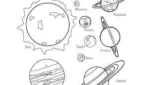 Venus Fly Trap Coloring Page Coloring Es Of Planets Solar System