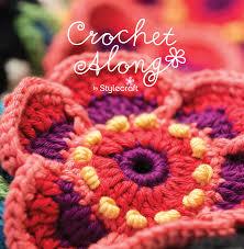 Crochet Flowers New Design Stylecraft Cal 2016 Fridas Flowers Yarnplaza Com For