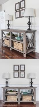 Diy Rustic Sofa Table 20 Easy Diy Console Table And Sofa Table Ideas Hative